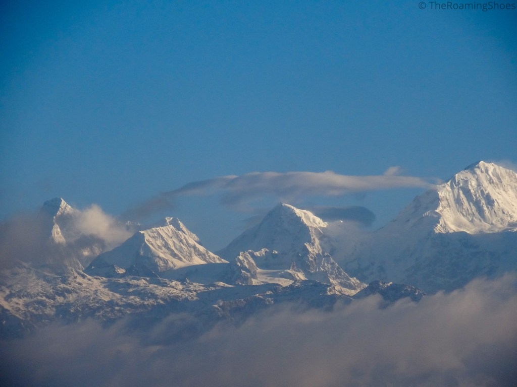 View of Kanchenjunga in the morning