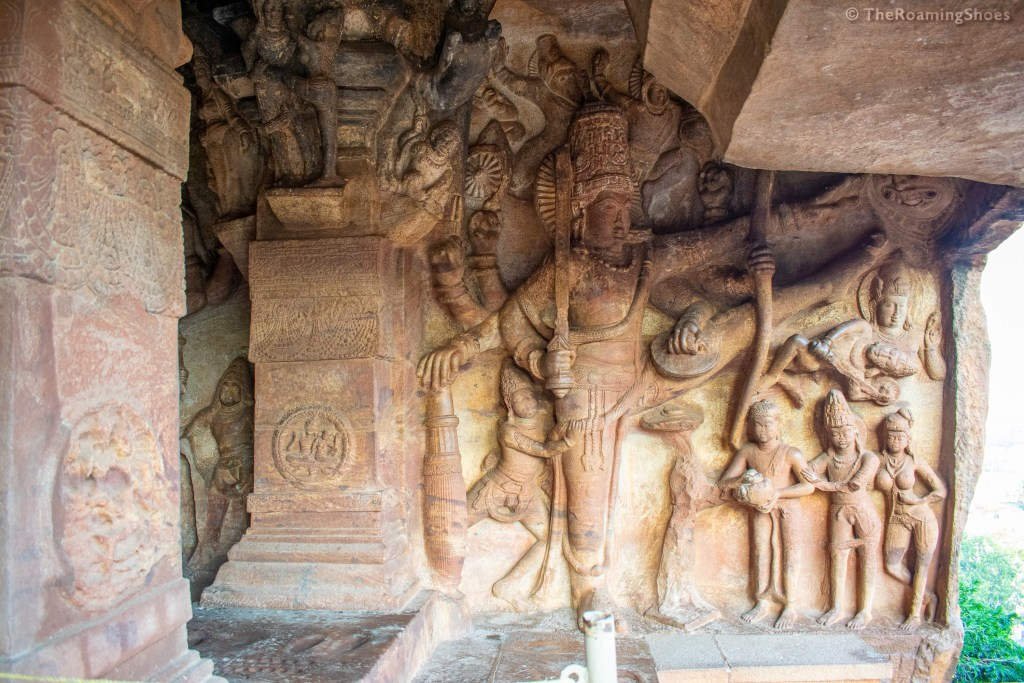 The fascinating carvings of cave temples, Badami
