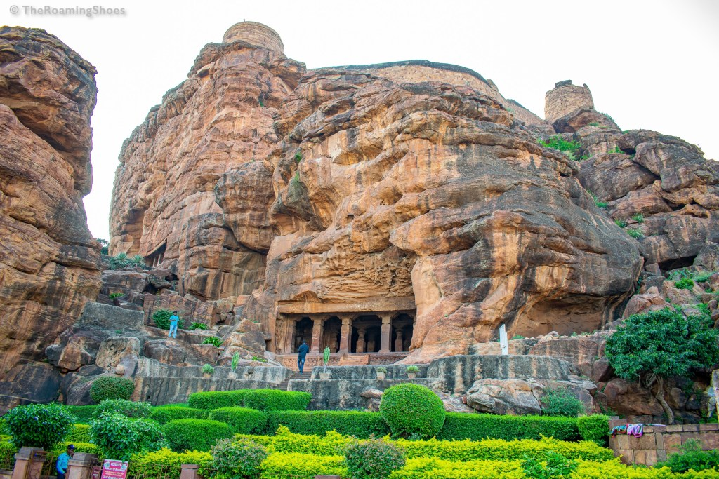 The cave temples, Badami