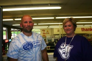 """Chad and Dawn Burdette are """"Big on The Pig."""""""