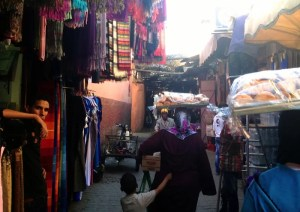 The souks of Marrakesh are a very easy place to get lost . . . For good!