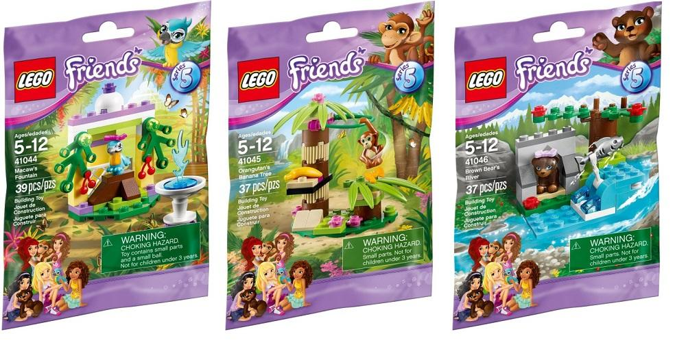 Lego FRIENDS VARIOUS SETS with animals to choose from NEW /& in Polybag
