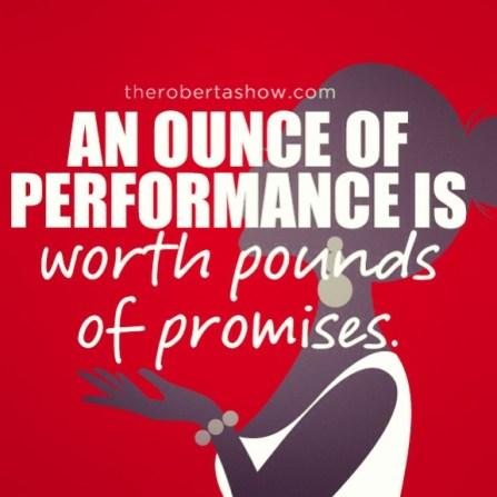 Ounces & Promises.