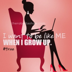 When i grow up.