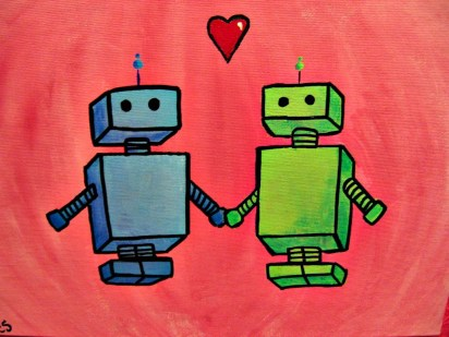 Image result for love robot""