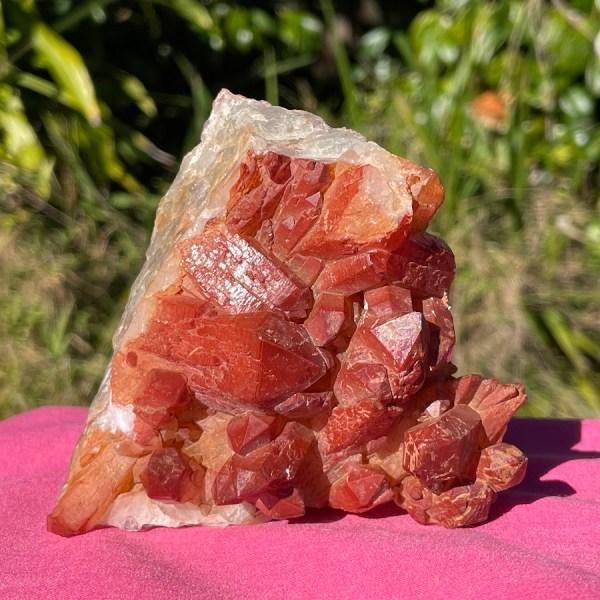 Orange River Hematoid Quartz