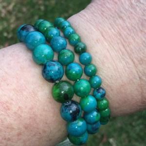 chrysocolla bracelets