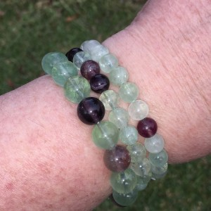 rainbow fluorite bracelets