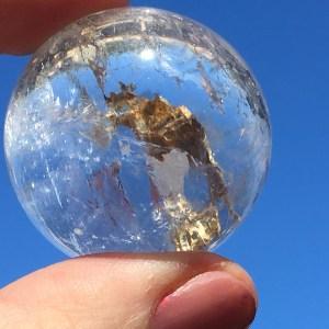clear quartz sphere 3b