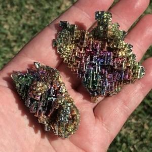 rainbow bismuth clusters