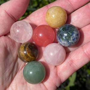 CATEGORY Chakra Set of Spheres