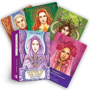The deck balances male and female energies, and includes traditional masters like Lord Buddha and Mother Mary, Earth-based deities like Gaia and Cernunnos, and modern favorites like Sanat Kumara, Lady Venus, and Saint Germain.