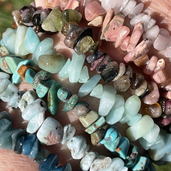 Set of 7 Chip Bracelets
