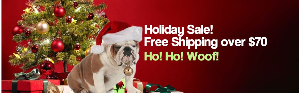 Holiday Deals at Rockin' Dogs Pet Store Online