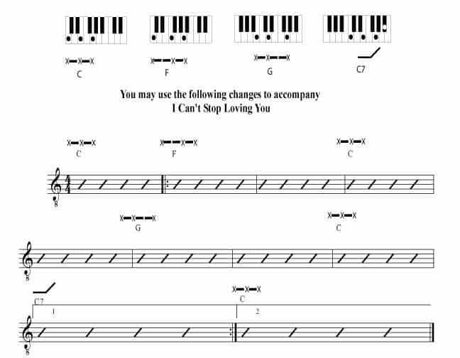 Chord Change Formula 6