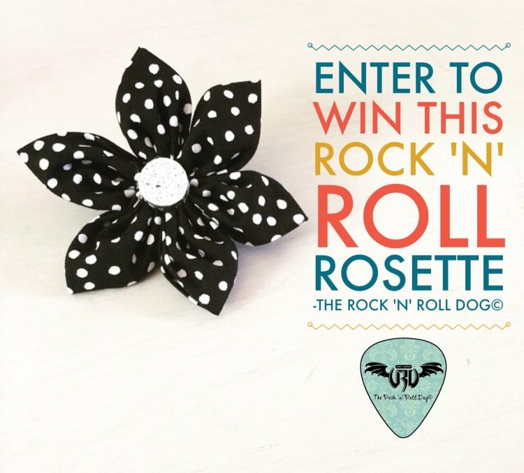 Rock n Roll Rosette