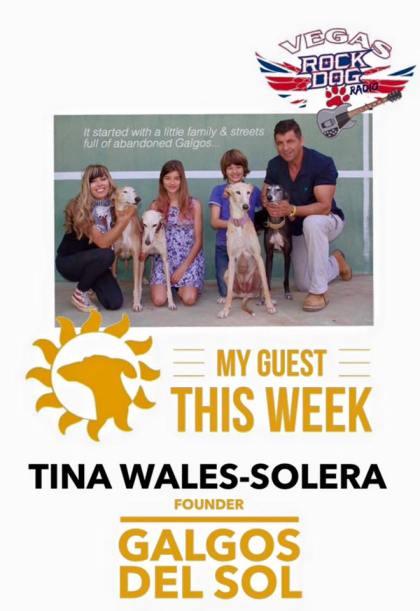 Tina Wales Solera founder of Galgos Del Sol, Spain.