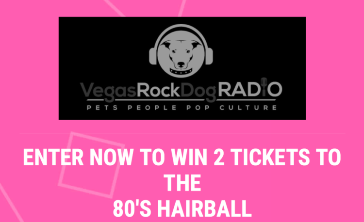 80's Hairball fundraiser for animal rescue in Las Vegas
