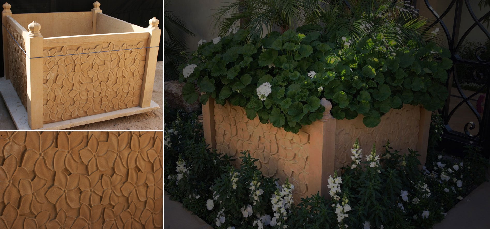 MADE TO ORDER, GARDEN PLANTERS
