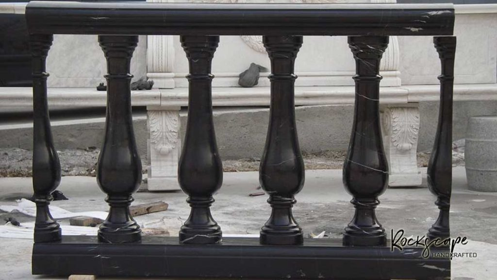 Marble balusters made to order