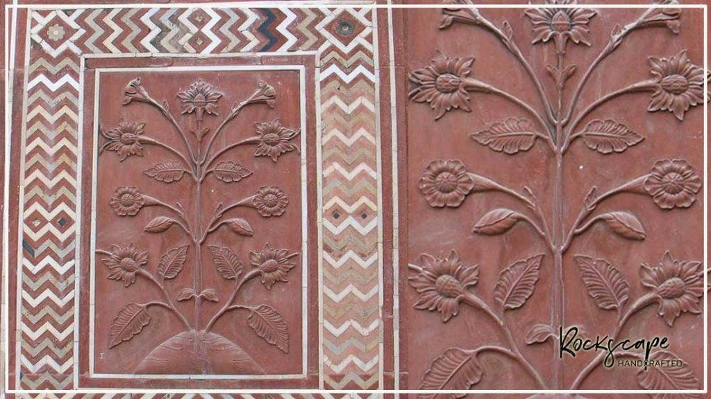 marble relief carving rockscape ideas