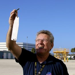 Guide, Greg Hale, holds the key to 1 of the largest buildings in the world!