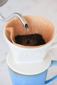 Ceramic one cup pour over - Coffee Essentials for Mothers - The Rockstar Mommy