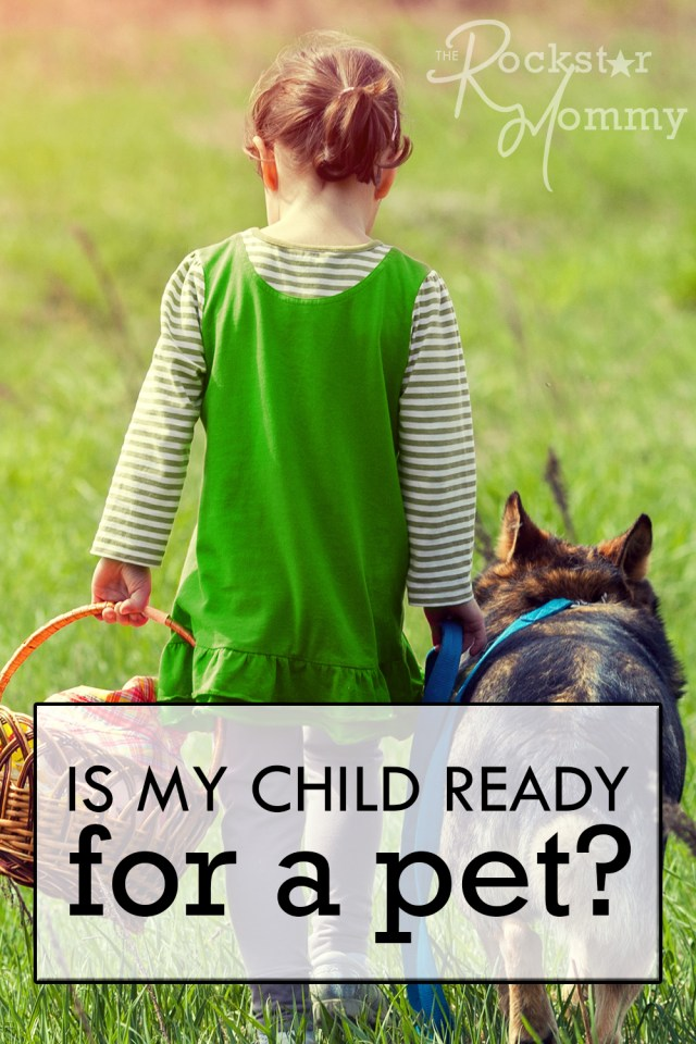 Is My Child Ready for a Pet?