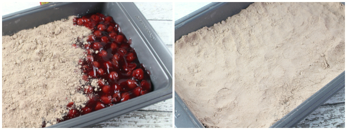 Cherry Chocolate Dump Cake - Step 2