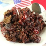 Cherry Chocolate Dump Cake - The Rockstar Mommy