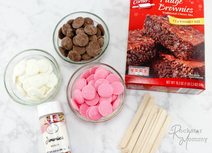 Brownie Popsicles - Ingredients - The Rockstar Mommy
