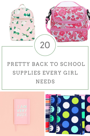 20 Pretty Back to School Supplies