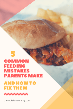 5 common feeding mistakes parents make and how to fix them.