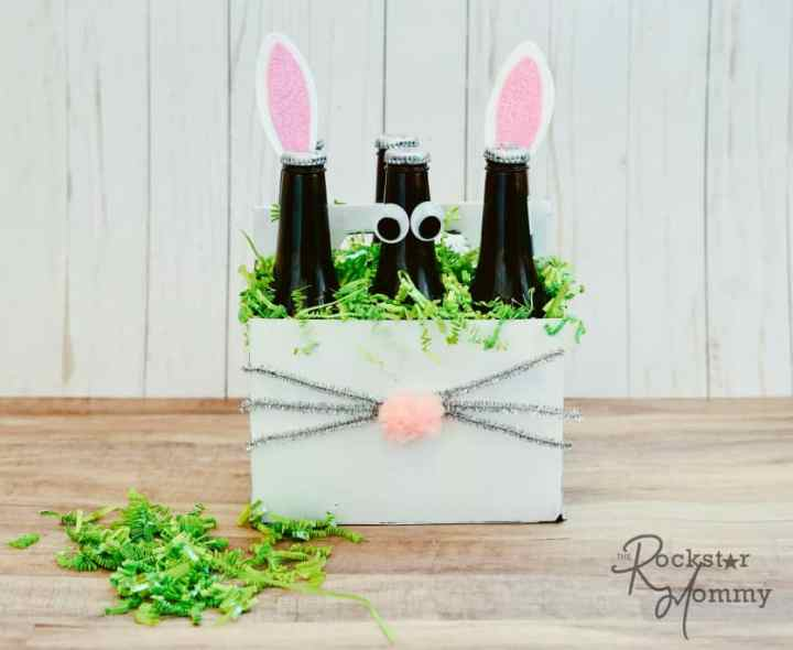Easter Bunny Brew Gift - Fun Easter gift craft - The RockstarMommy.com