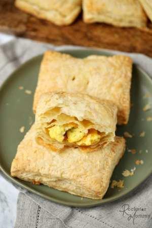 Homemade Breakfast Hot Pockets Recipe - The Rockstar Mommy