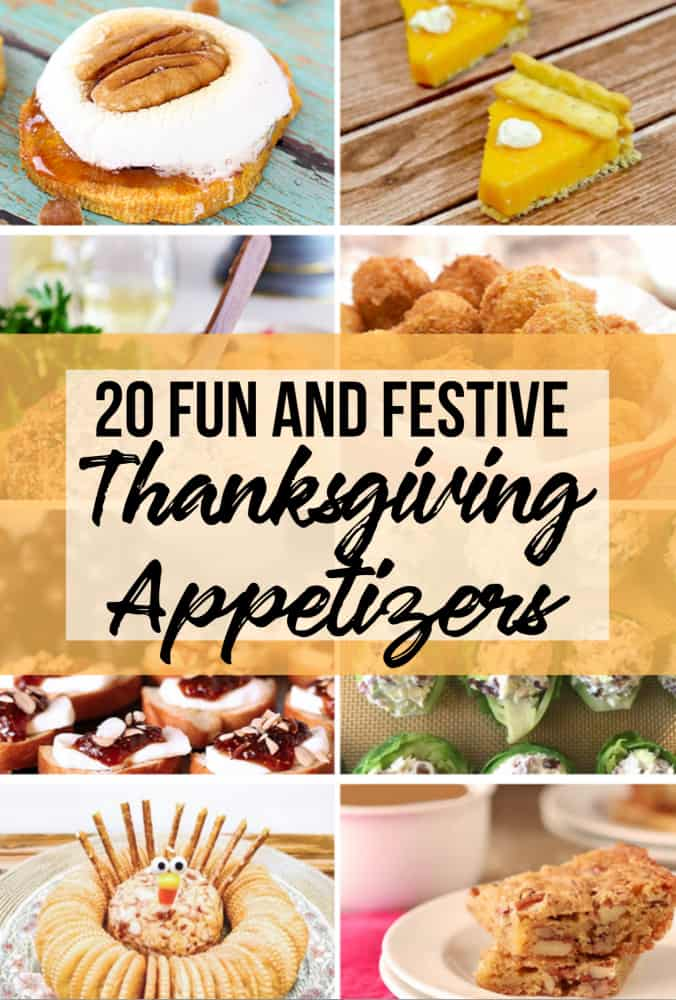 20 fun thanksgiving appetizers  the rockstar mommy