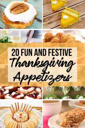 20 Fun Thanksgiving Appetizer - The Rockstar Mommy
