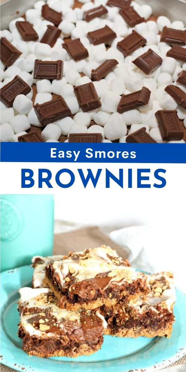 S'mores Brownie Recipe from The Rockstar Mommy
