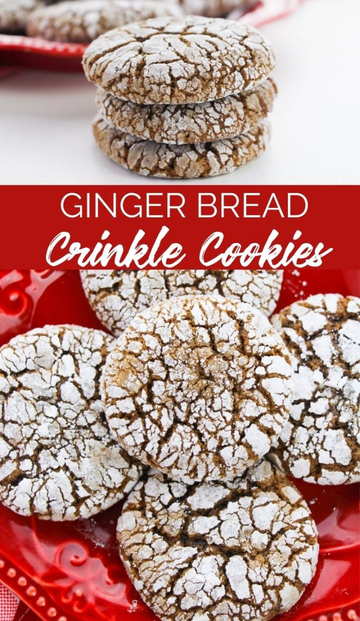 Making these Gingerbread Crinkle Cookies will instantly send a message that you've taken your cookie game to the next level this holiday.