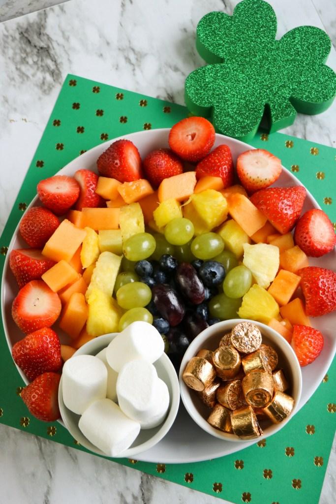 St Patrick Day Fruit Platter
