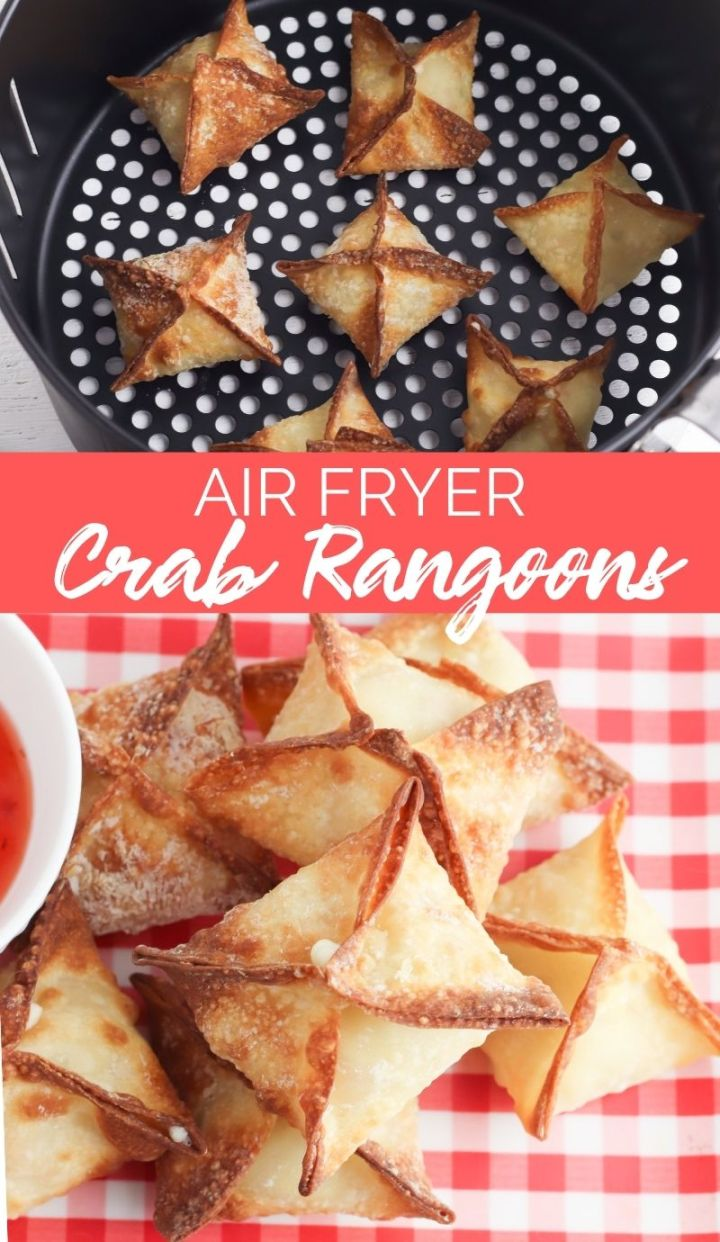 For a healthier version of this much-loved American-Chinese appetizer, Air Fryer Crab Rangoon are the way to go!