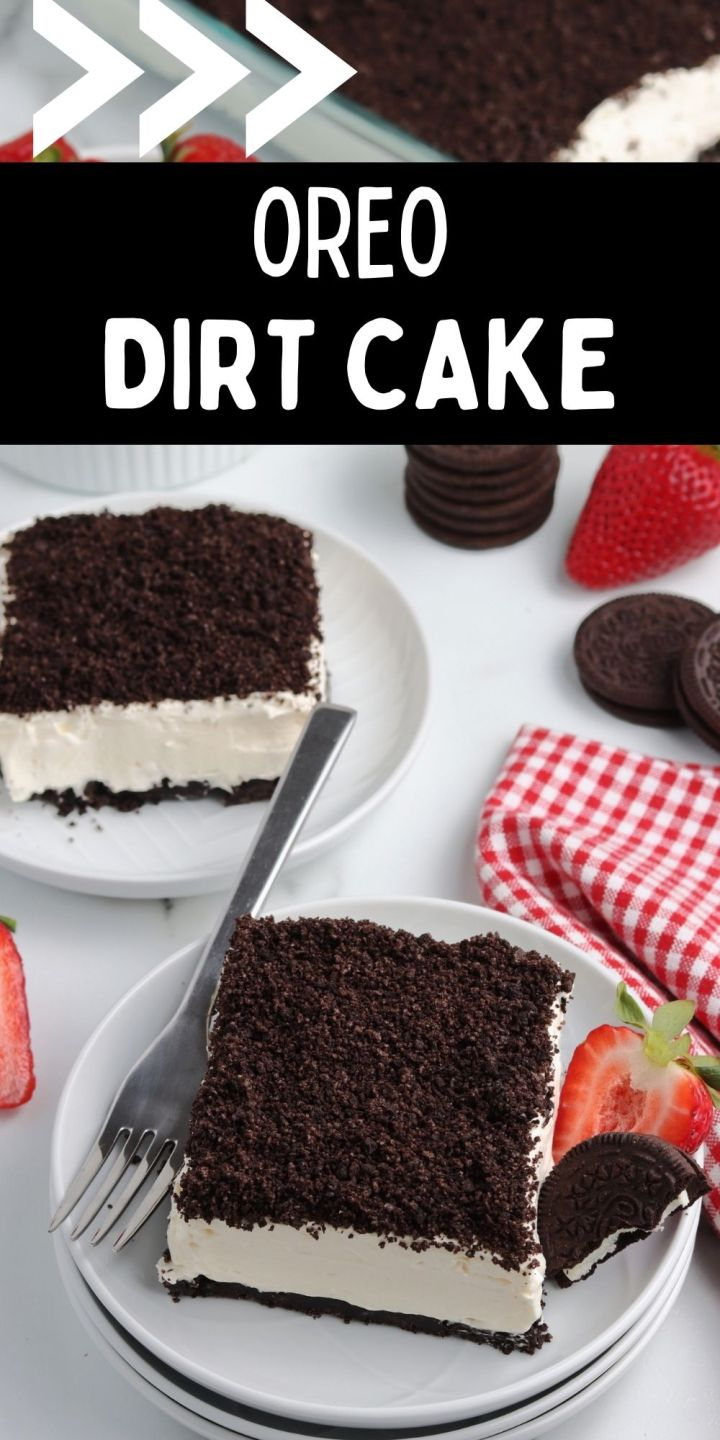 While this Oreo Dirt Cake may not sound that delicious, it's actually one of my favorite no-bake summer desserts!