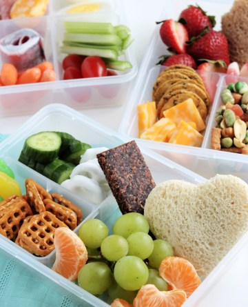 Easy Lunchbox Ideas for Kids from The Rockstar Mommy