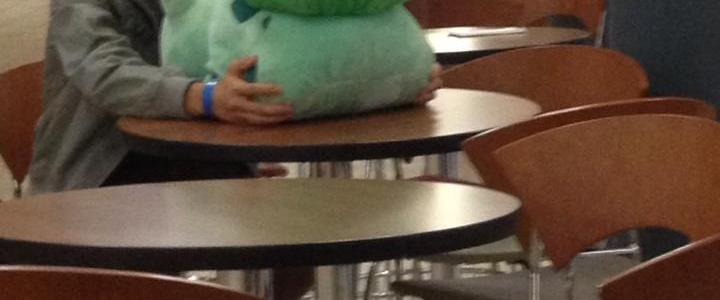 I found someone casually praying to Bulbasaur in the Student Center