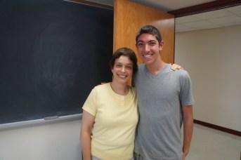 Photo with Jean - American Music Teacher
