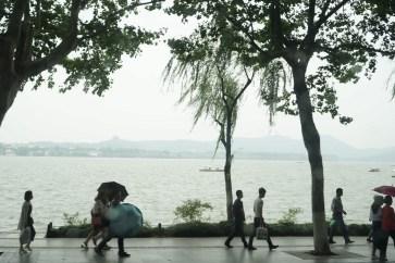 Started to rain :(