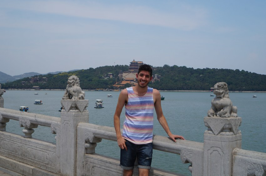 The Summer Palace is behind me!