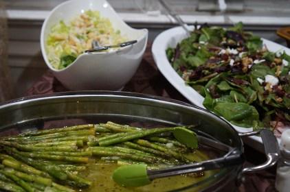 Asparagus and Salads