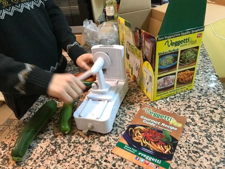 Unboxing the Veggetti Pro