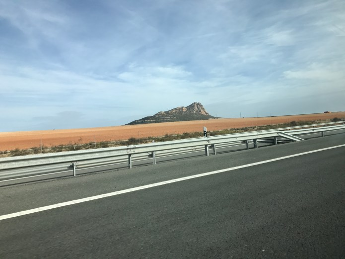 Driving to Valencia